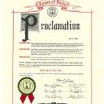 法轮大法得到纽约长岛五区镇的褒奖