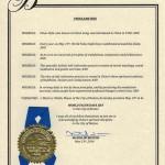 法轮大法获美国麻州波士顿市市长褒奖
