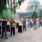 李洪志师父传法义县 真善忍润泽古城(组图)