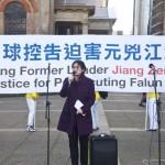 法轮功学员控告江泽民 是正义诉求(组图)