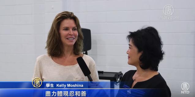 法轮功进入美国大学正式课程(视频)
