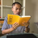 为读中文《转法轮》  越南机长舍高薪来台(组图)