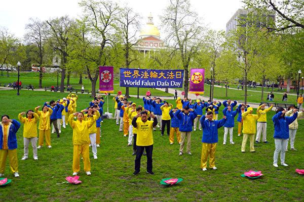 中西學員感恩慶祝法輪功創始人李洪志先生華誕